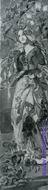 Врубель М.А. Маргарита. Эскиз декоративного панно для готического ккабинета в доме А.В. Морозова в Москве. 1896