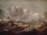 Бурное море (Абрахам Виллартс)