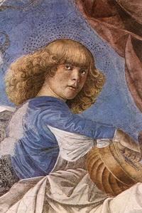 Фреска в Ватиканской Пинакотеке