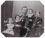 1859-Отец художника А.М. Врубель с детьми после смерти первой жены. ОР ГРМ, ф. 34, ед. хр. 72, л. 1