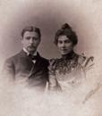 М.А. Врубель и Н.И. Забела-Врубель. 1890-е. ОР ГРМ. ф. 85, ед. хр. 194, л. 1