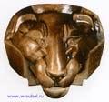 Врубель М.А. Маска ливийского льва. 1891-1892. Майолика. 44х46,5х24. ГТГ