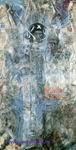 Врубель М.А. Видение пророка Иезекииля. 1906. Бумага, акварель, гуашь. 102,3х55,1. ГРМ