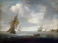 Море в пасмурный день (Ян Порселлис)