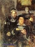 Врубель М.А. Гамлет и Офелия. 1884. Картина не окончена. Холст, масло. 120х89. ГРМ