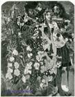 Врубель М.А. Фауст и Маргарита в саду. 1896. Эскиз декоративного панно для готического кабинета в доме А.В.Морозова