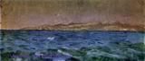 Врубель М.А. Остров Эльба. Тирренское море. 1894. Д., м. 9,4х21,6. ГТГ