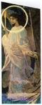 Врубель М.А. Ангел с кадилом и свечой. Эскиз для неосуществленной росписи Владимирского собора в Киеве. 1887