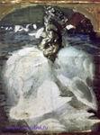 Врубель М.А. Царевна-Лебедь. 1900. Эскиз одноименной картины. ГРМ