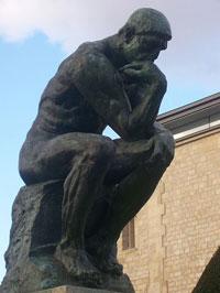 Мыслитель (Огюст Роден, 1880 — 1882 г.)