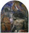 Врубель М.А. Пророк. 1898. Холст, масло. 145х131. ГТГ